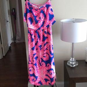 Lilly Pulitzer Meridian Midi Dress XXS